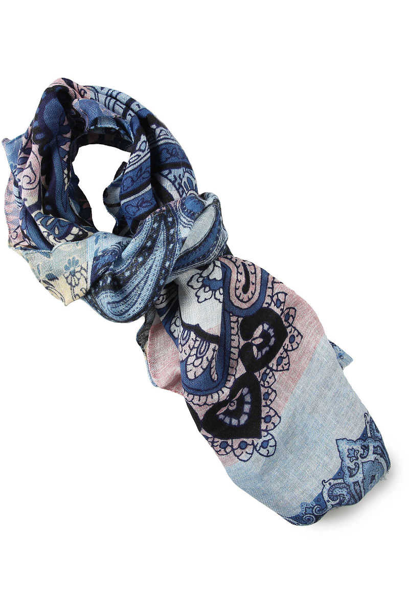 Etro Scarf for Men On Sale Pink - GOOFASH