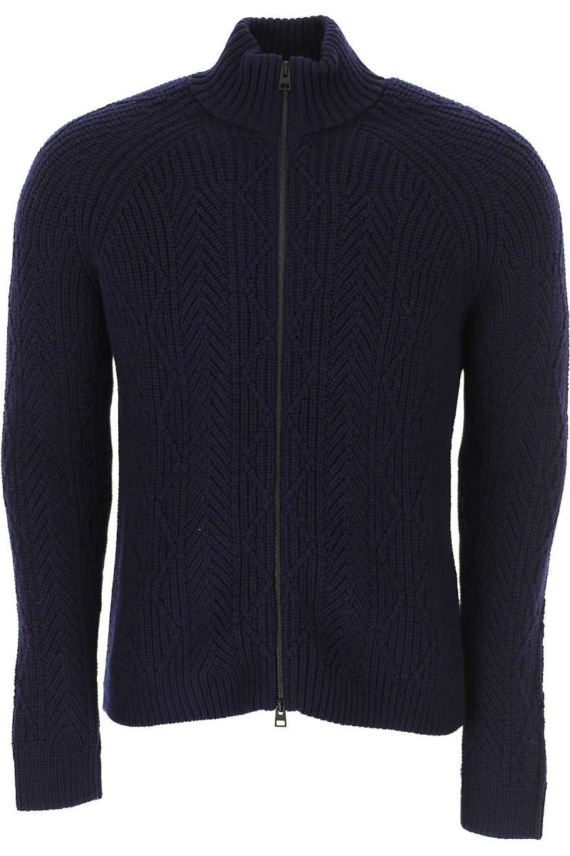 Etro Sweater for Men Jumper On Sale in Outlet Dark Blue UK - GOOFASH - Mens SWEATERS