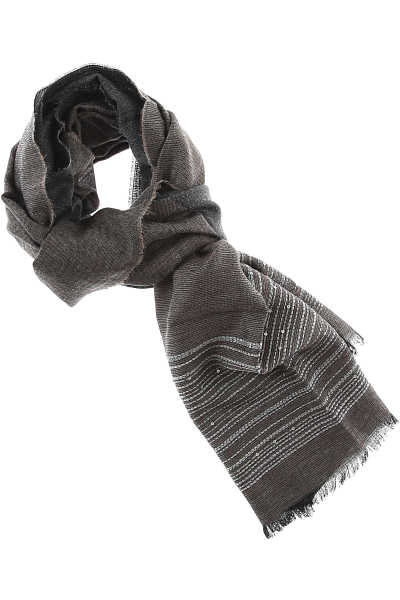 Fabiana Filippi Scarf for Women On Sale Anthracite - GOOFASH