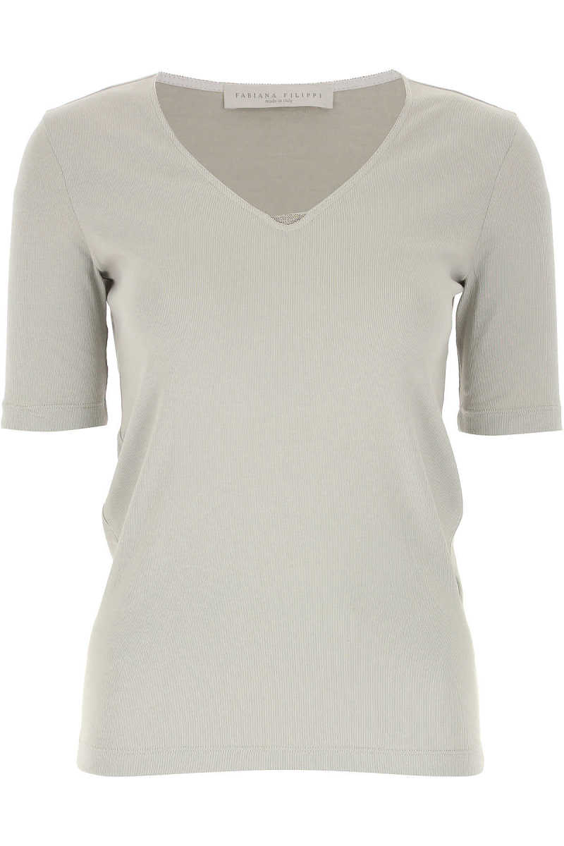 Fabiana Filippi Top for Women On Sale Pale Sage - GOOFASH