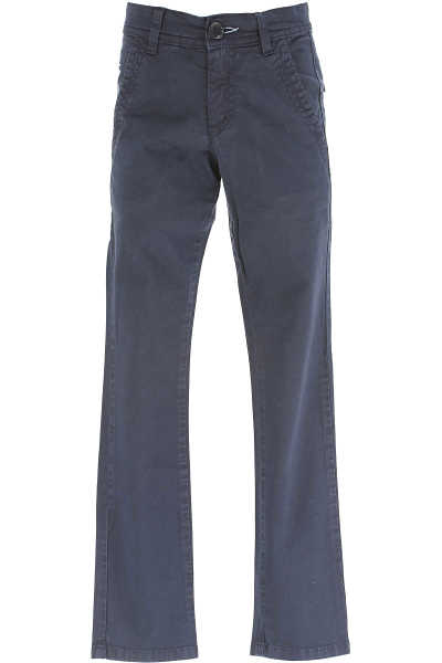 Fay Kids Pants for Boys On Sale in Outlet Blue - GOOFASH - Mens TROUSERS