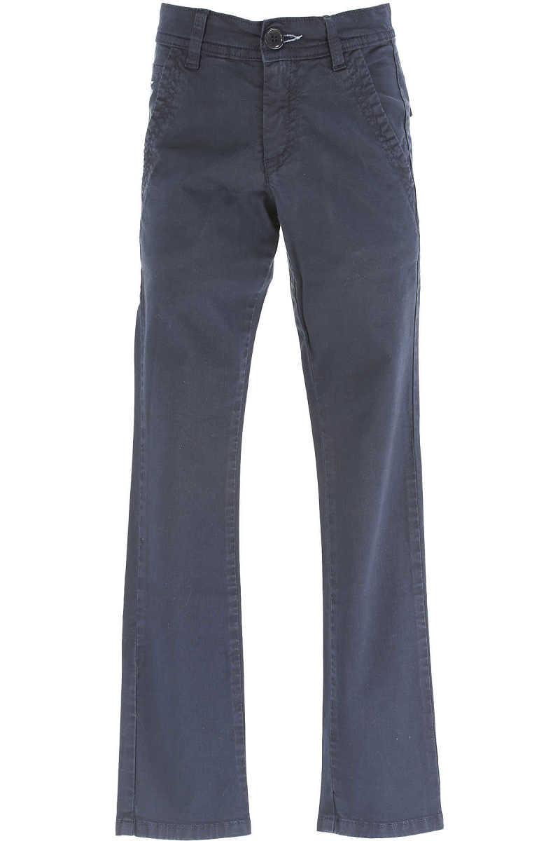 Fay Kids Pants for Boys On Sale in Outlet Blue UK - GOOFASH - Mens TROUSERS