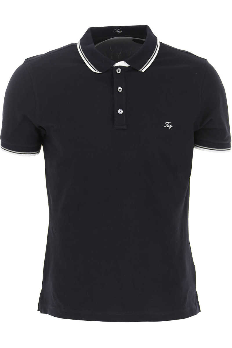 Fay Polo Shirt for Men navy UK - GOOFASH - Mens POLOSHIRTS