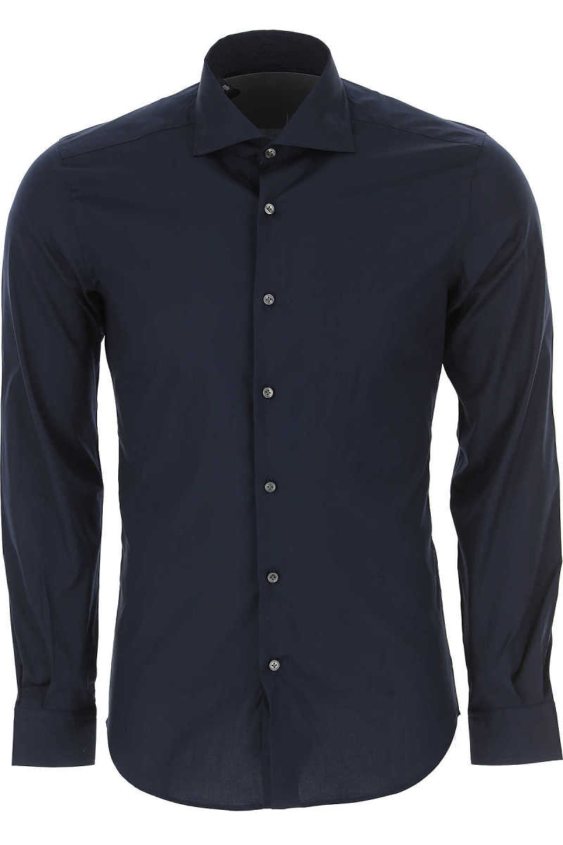 Fay Shirt for Men On Sale in Outlet Night Blue - GOOFASH