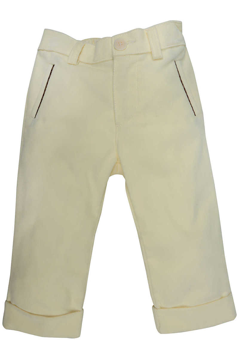 Fendi Baby Pants for Boys On Sale in Outlet Cream UK - GOOFASH - Mens TROUSERS