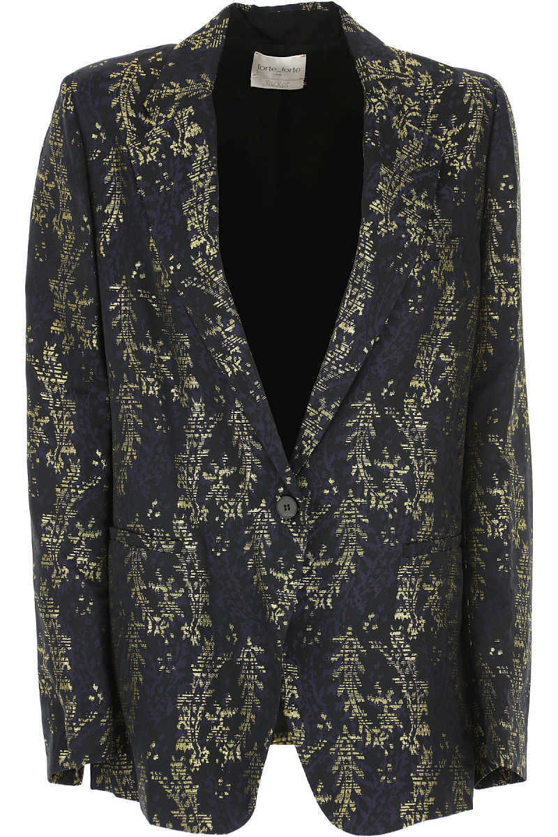 Forte Forte Blazer for Women Midnight Blue UK - GOOFASH - Womens BLAZER
