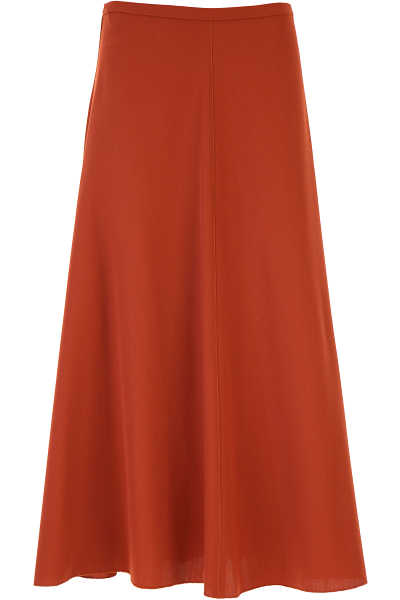 Forte Forte Skirt for Women Rust UK - GOOFASH - Womens SKIRTS