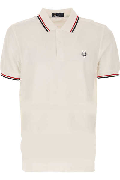 Fred Perry Polo Shirt for Men White UK - GOOFASH - Mens POLOSHIRTS