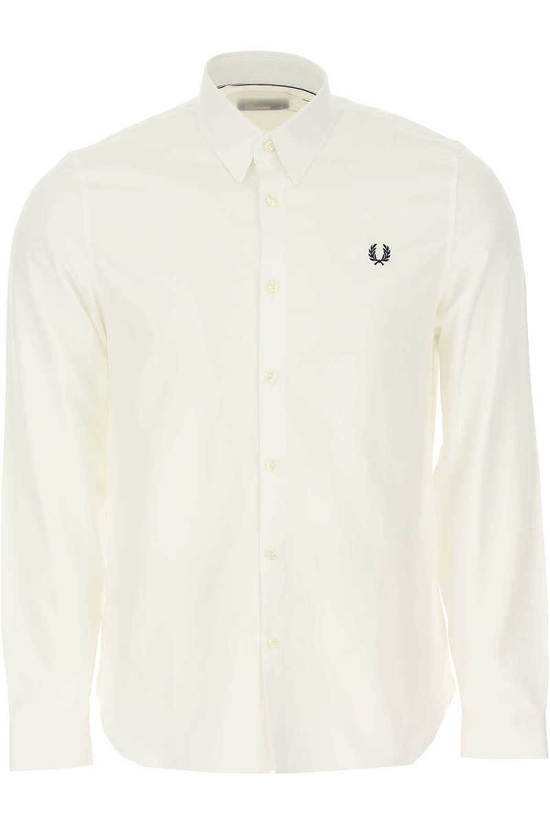 Fred Perry Shirt for Men White - GOOFASH