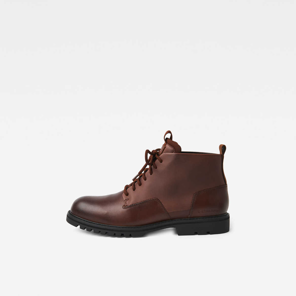 G-Star Male Core Derby Boot Ii Shoes Brown USA - GOOFASH - Mens BOOTS