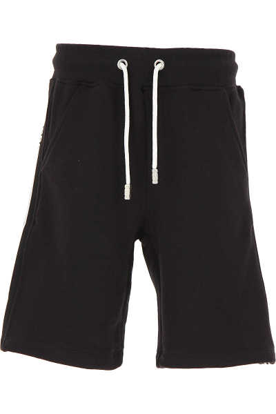GCDS Kids Shorts for Boys On Sale Black - GOOFASH - Mens SHORTS