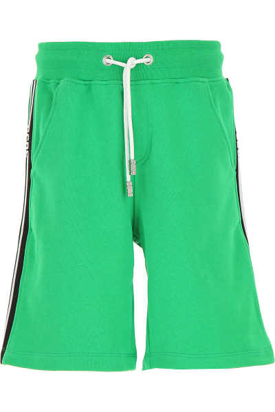 GCDS Kids Shorts for Boys On Sale Green UK - GOOFASH - Mens SHORTS