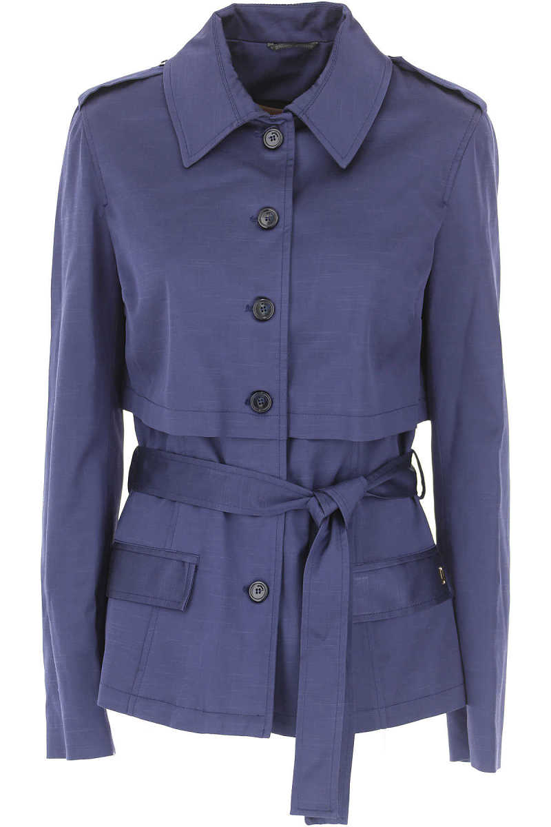 Galliano Blazer for Women On Sale in Outlet Blue - GOOFASH