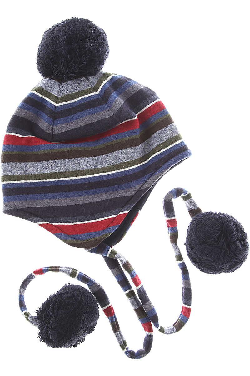 Gallo Kids Hats for Boys On Sale in Outlet Blue - GOOFASH - Mens HATS
