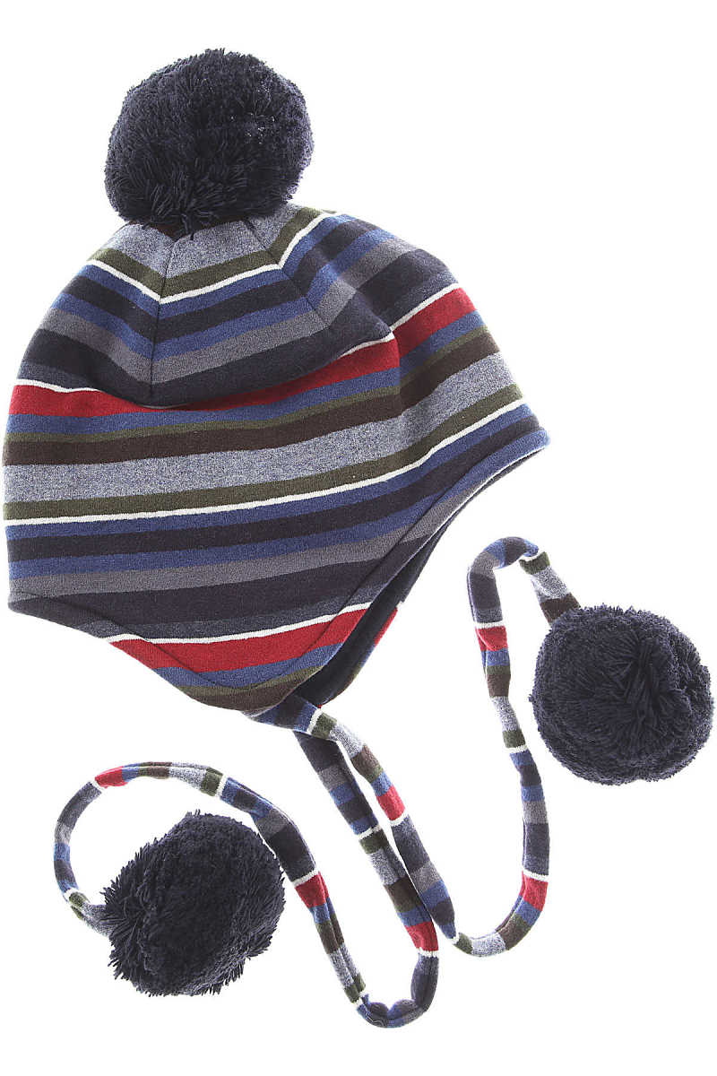 Gallo Kids Hats for Boys On Sale in Outlet Blue UK - GOOFASH - Mens HATS