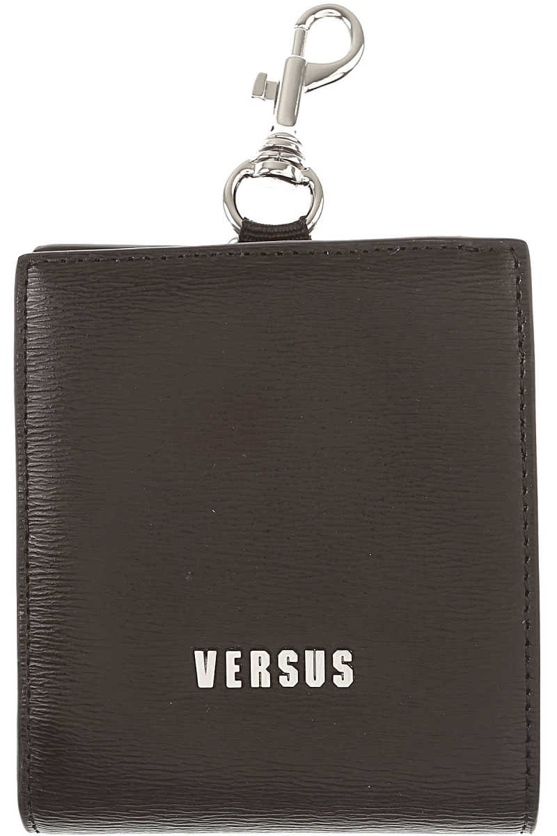 Gianni Versace Wallet for Men On Sale Black UK - GOOFASH