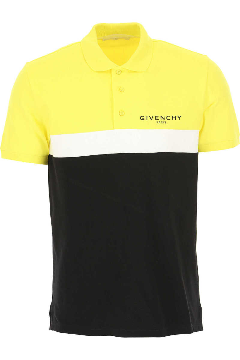 Givenchy Polo Shirt for Men Yellow - GOOFASH