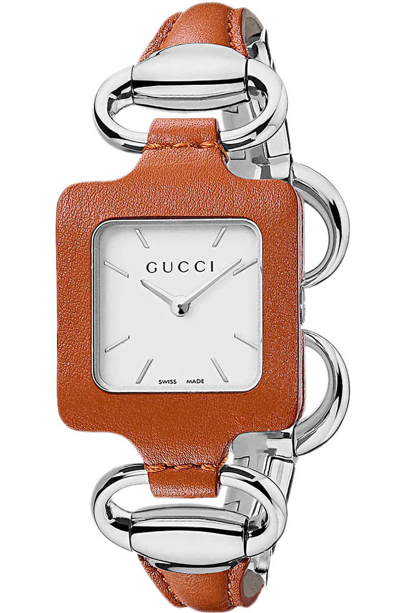 Gucci Watch for Women Brown - GOOFASH