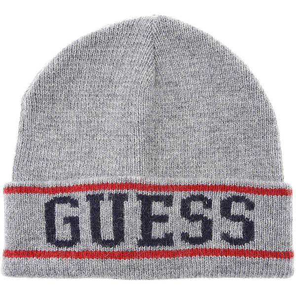 Guess Hat for Women Grey - GOOFASH