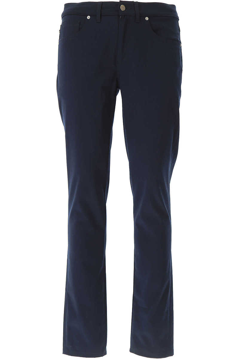 Guess Pants for Men On Sale Navy Blue - GOOFASH