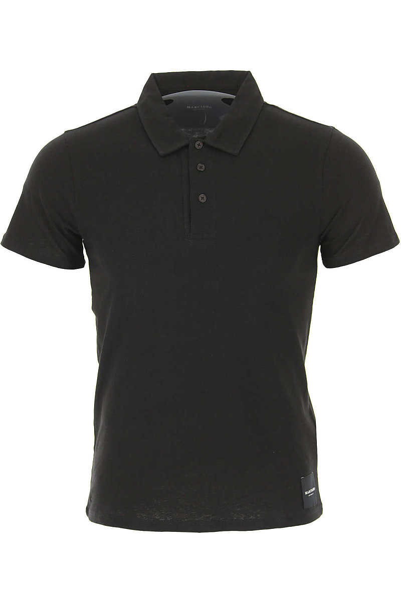 Guess Polo Shirt for Men On Sale Black - GOOFASH