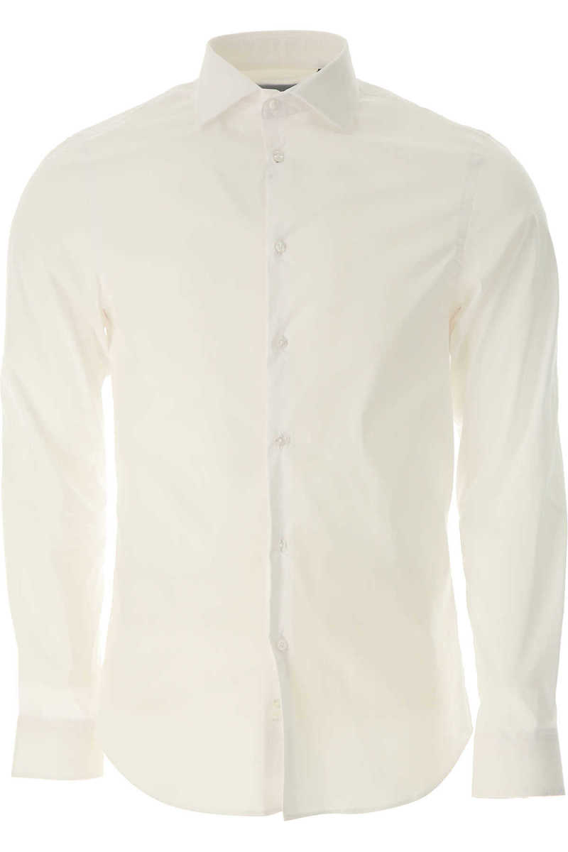 Guess Shirt for Men On Sale White - GOOFASH