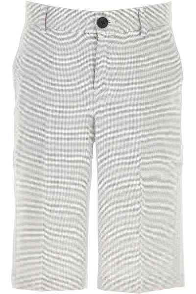 Hugo Boss Kids Shorts for Boys On Sale White - GOOFASH - Mens SHORTS