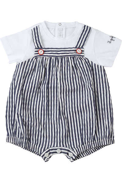 Il Gufo Baby Bodysuits & Onesies for Boys On Sale Blue UK - GOOFASH - Mens SUITS