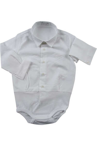 Il Gufo Baby Bodysuits & Onesies for Boys On Sale White - GOOFASH - Mens SUITS
