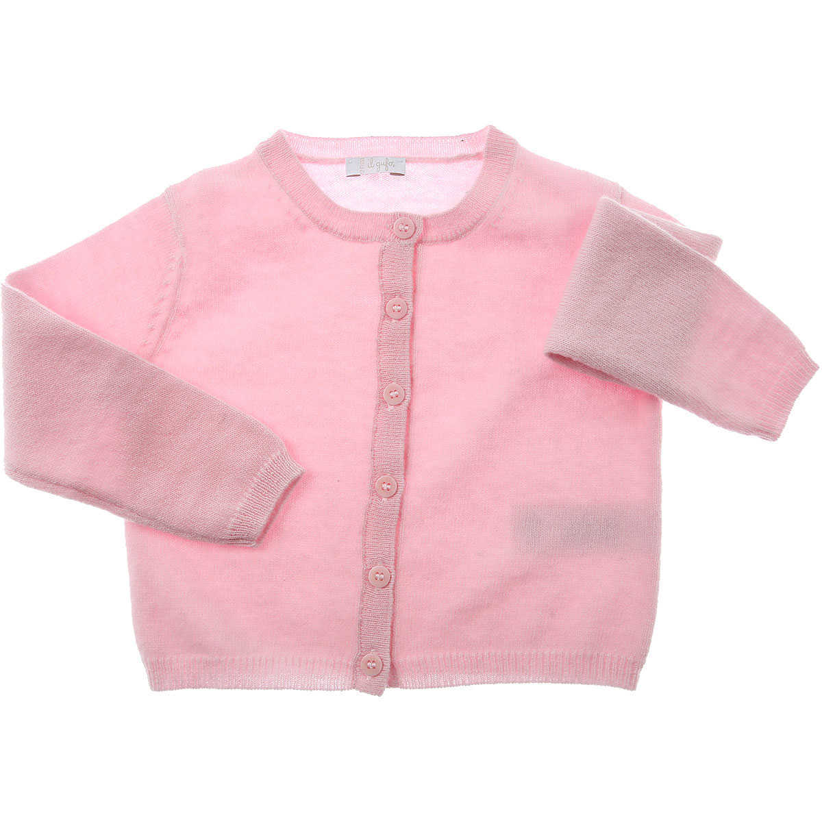 Il Gufo Baby Sweaters for Girls On Sale Light Pink UK - GOOFASH - Womens SWEATERS