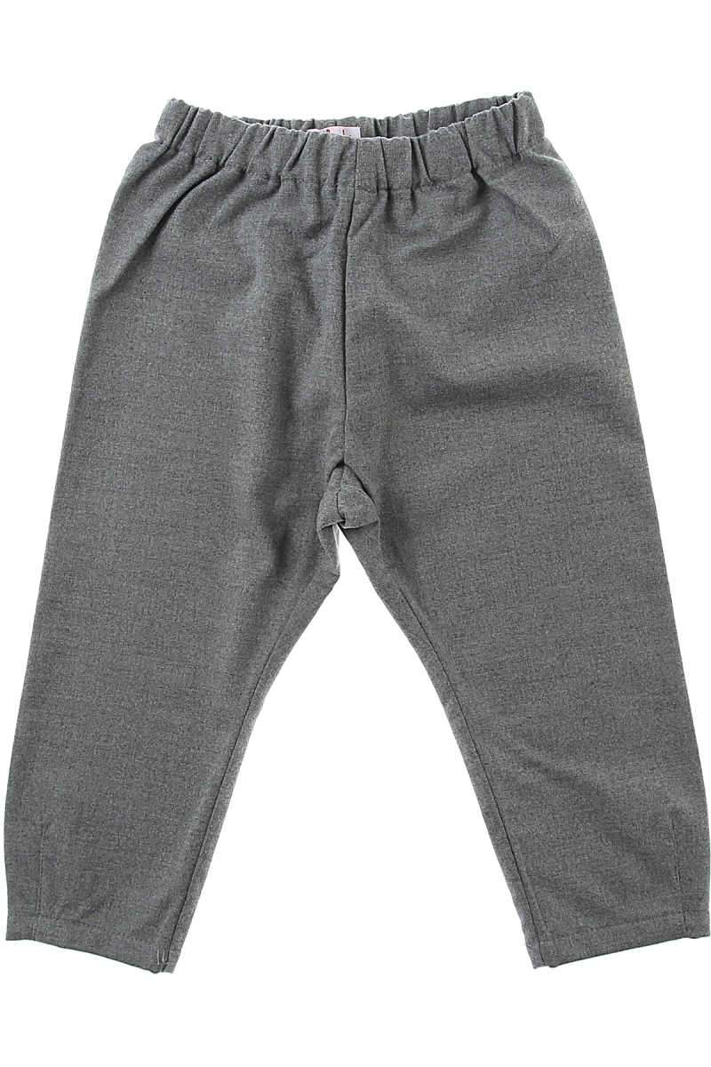 Il Gufo Kids Pants for Girls On Sale Grey - GOOFASH - Womens TROUSERS