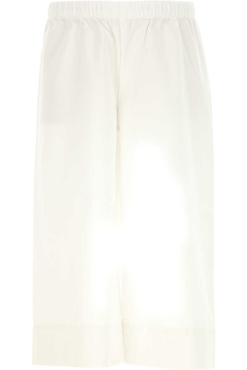 Il Gufo Kids Pants for Girls On Sale in Outlet White - GOOFASH - Womens TROUSERS