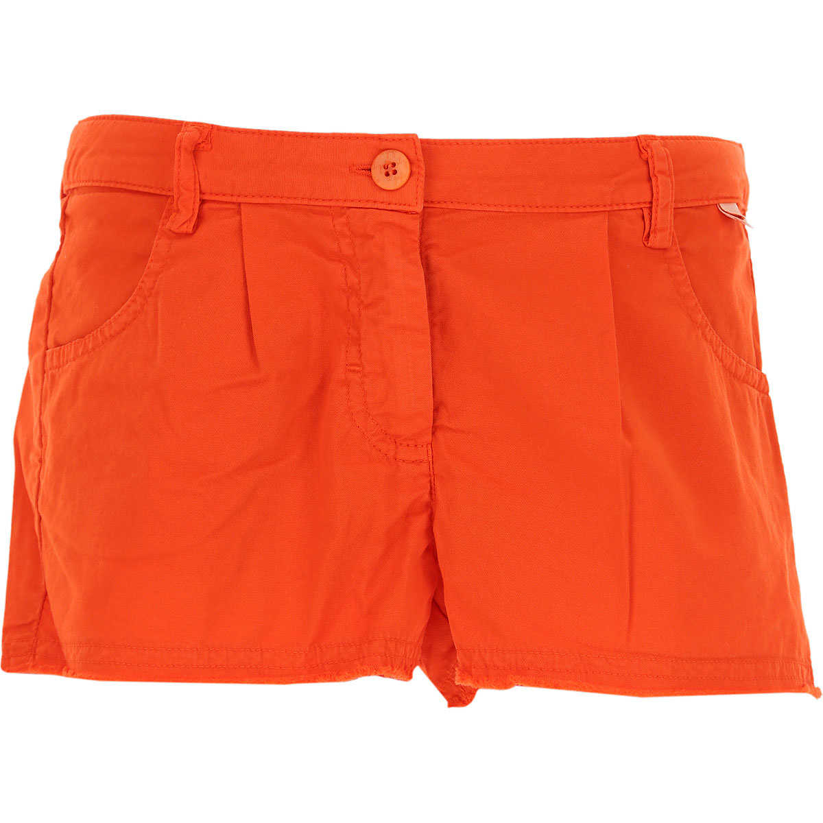 Il Gufo Kids Shorts for Girls On Sale in Outlet Orange - GOOFASH - Womens SHORTS