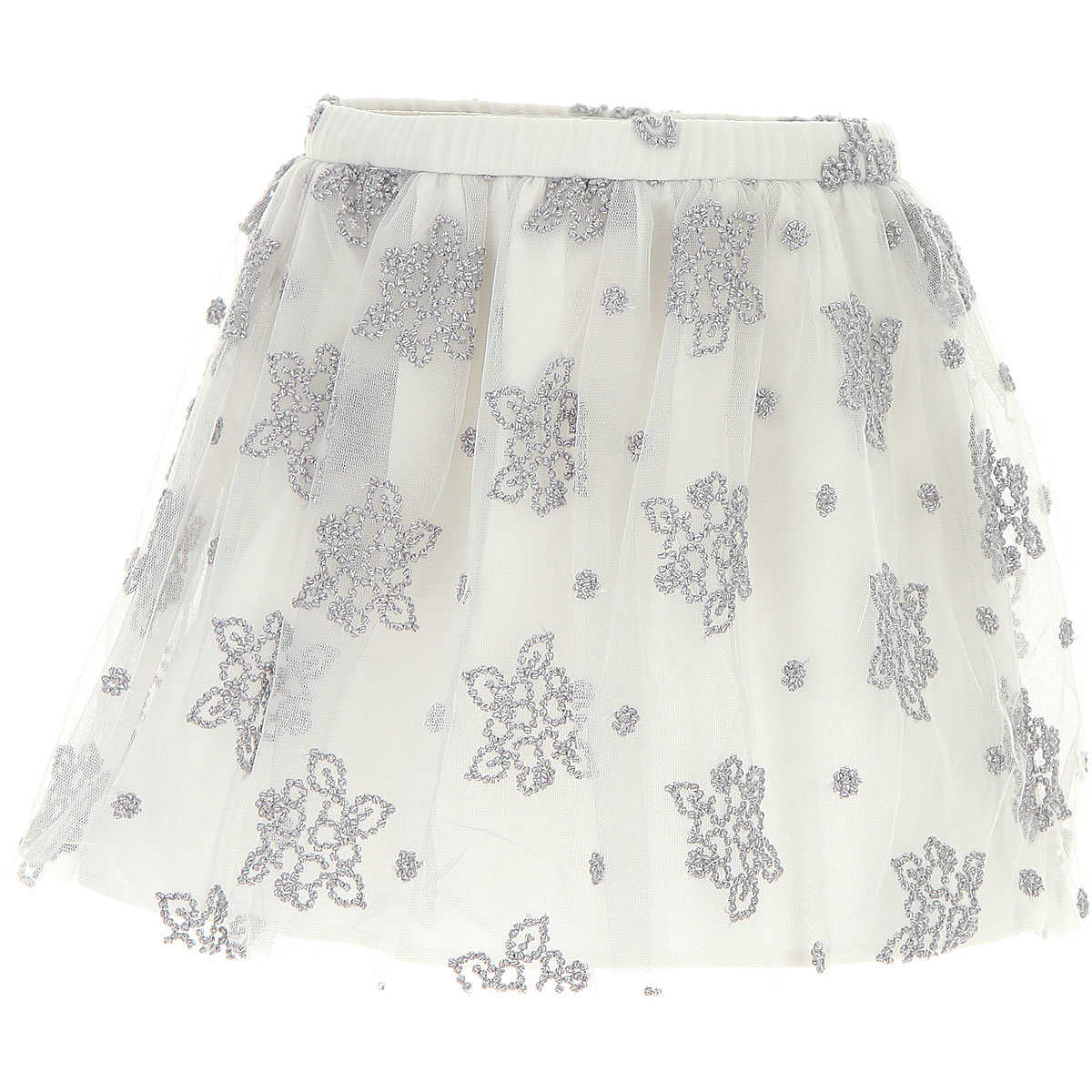 Il Gufo Kids Skirts for Girls On Sale in Outlet Silver - GOOFASH - Womens SKIRTS