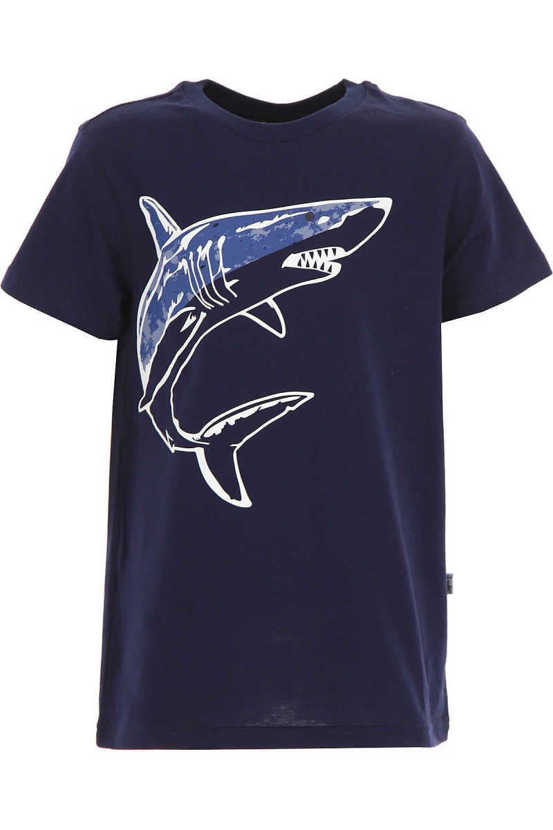 Il Gufo Kids T-Shirt for Boys On Sale Blue UK - GOOFASH - Mens T-SHIRTS