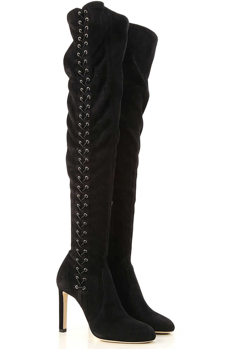 Jimmy Choo Boots for Women 4.5 5.5 6 6.5 7 Booties On Sale in Outlet UK - GOOFASH