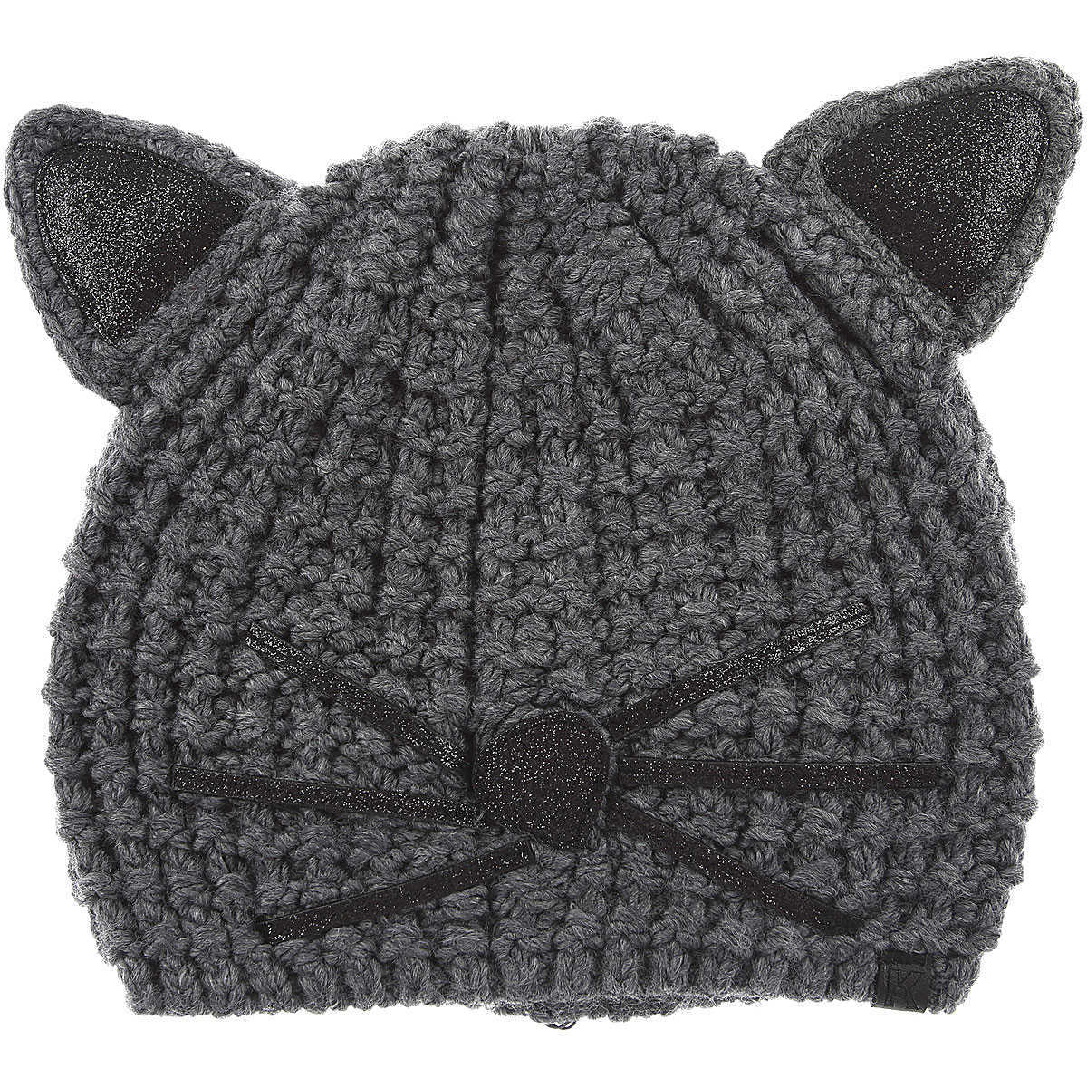 Karl Lagerfeld Hat for Women On Sale Mouse Grey UK - GOOFASH