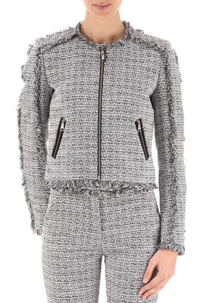 Karl Lagerfeld Jacket for Women On Sale in Outlet Black UK - GOOFASH
