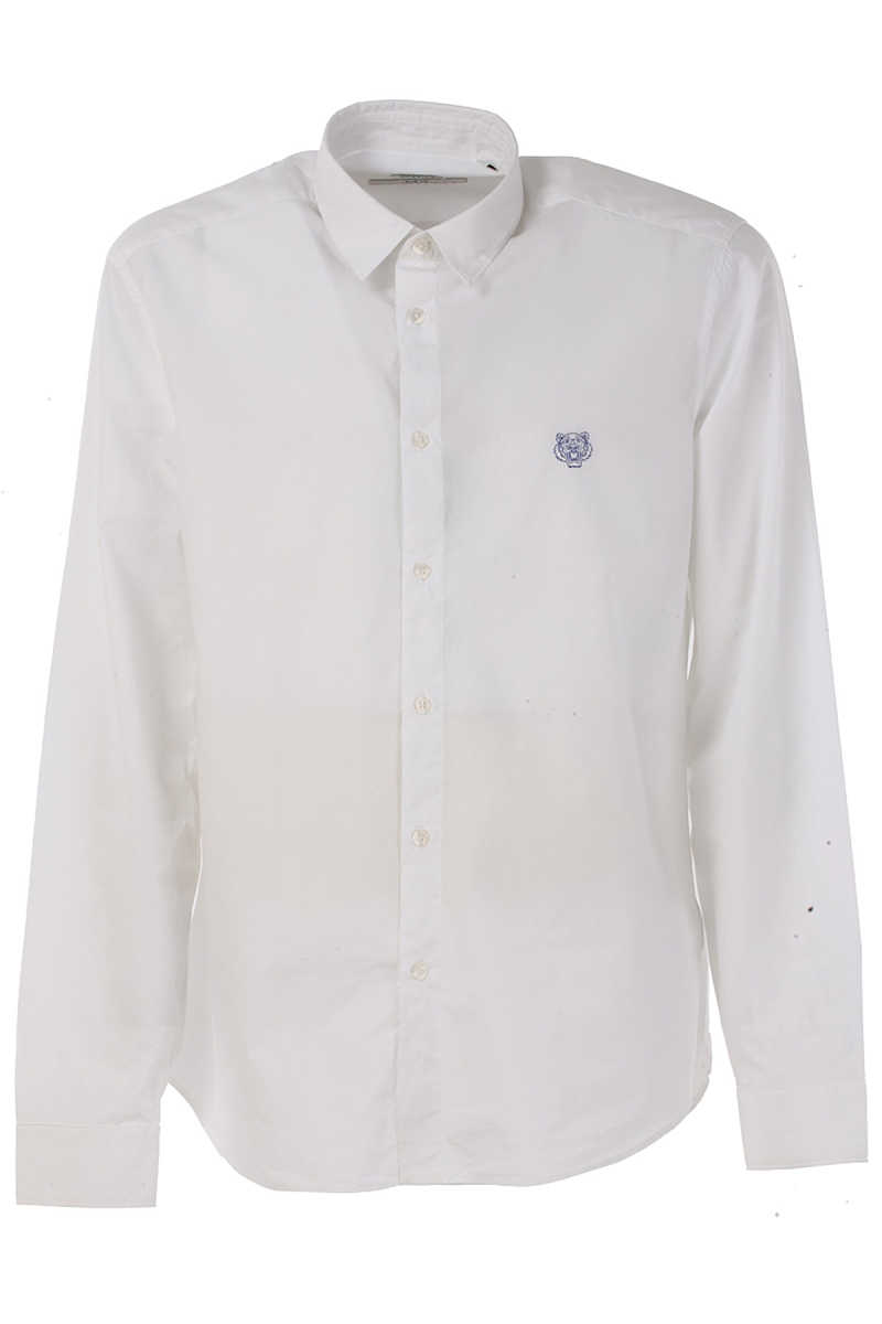 Kenzo Shirt for Men On Sale in Outlet White UK - GOOFASH - Mens SHIRTS