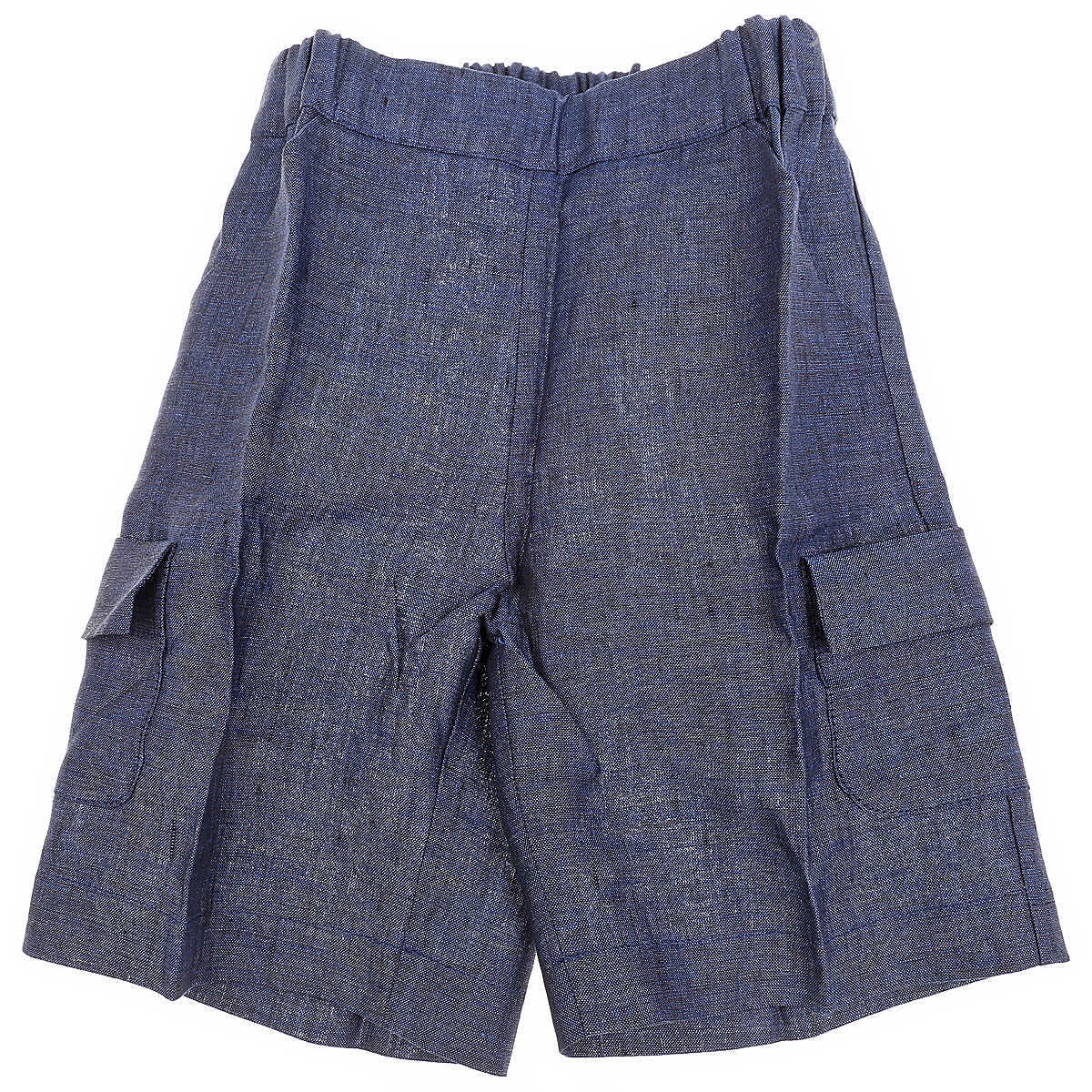La Stupenderia Baby Shorts for Boys On Sale in Outlet Blue - GOOFASH - Mens SHORTS