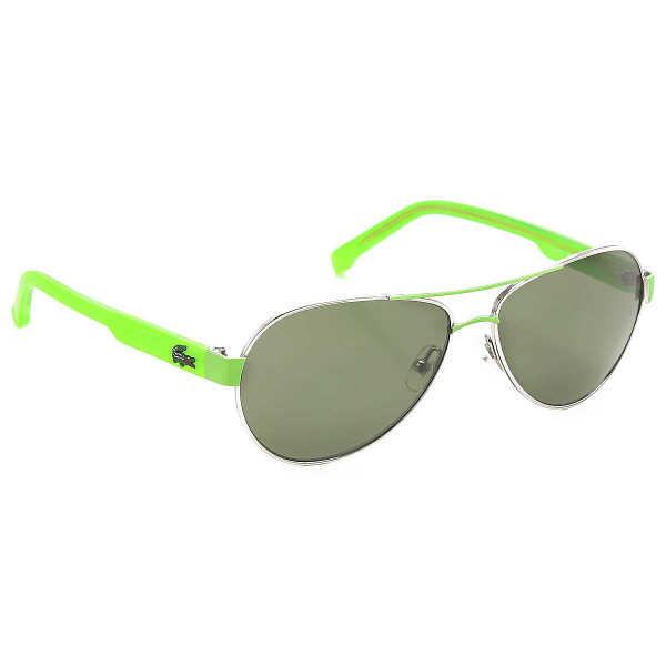 Lacoste Kids Sunglasses for Boys On Sale Silver - GOOFASH - Mens SUNGLASSES