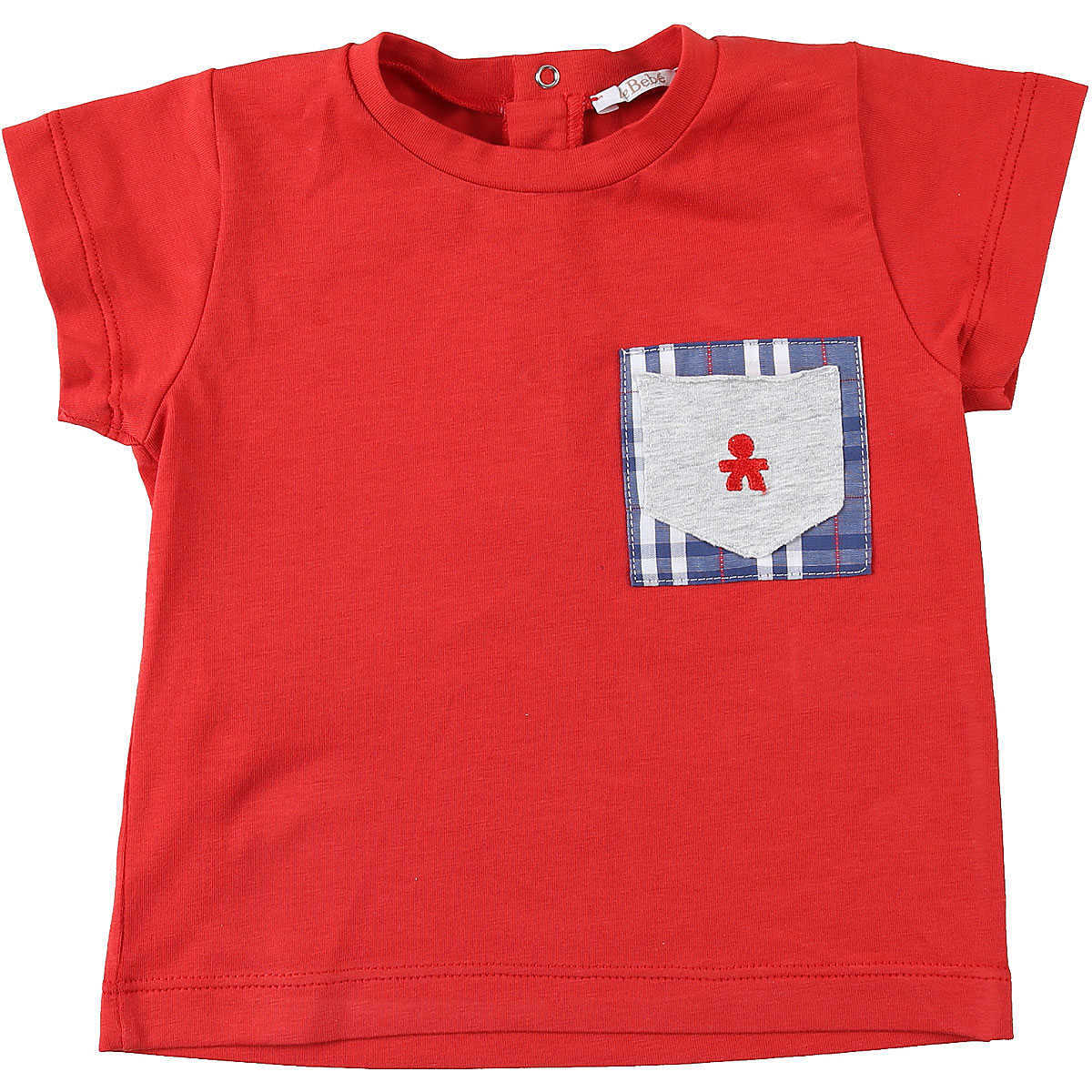 Le Bebe Baby T-Shirt for Boys On Sale Red UK - GOOFASH - Mens T-SHIRTS