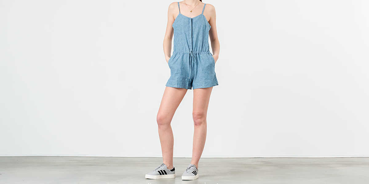 Levi's® Rock Amber Light Overall Blue HU - GOOFASH - Womens OVERALLS