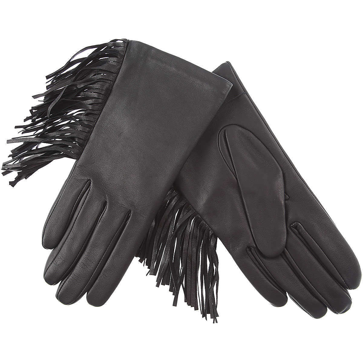 Liviana Conti Gloves for Women Black UK - GOOFASH - Womens GLOVES