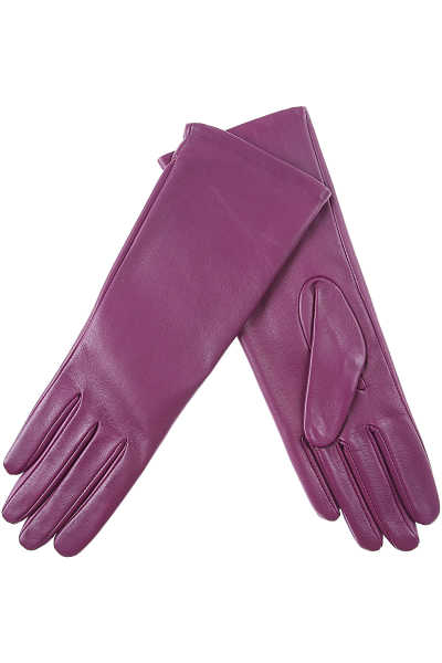 Liviana Conti Gloves for Women Violet UK - GOOFASH - Womens GLOVES