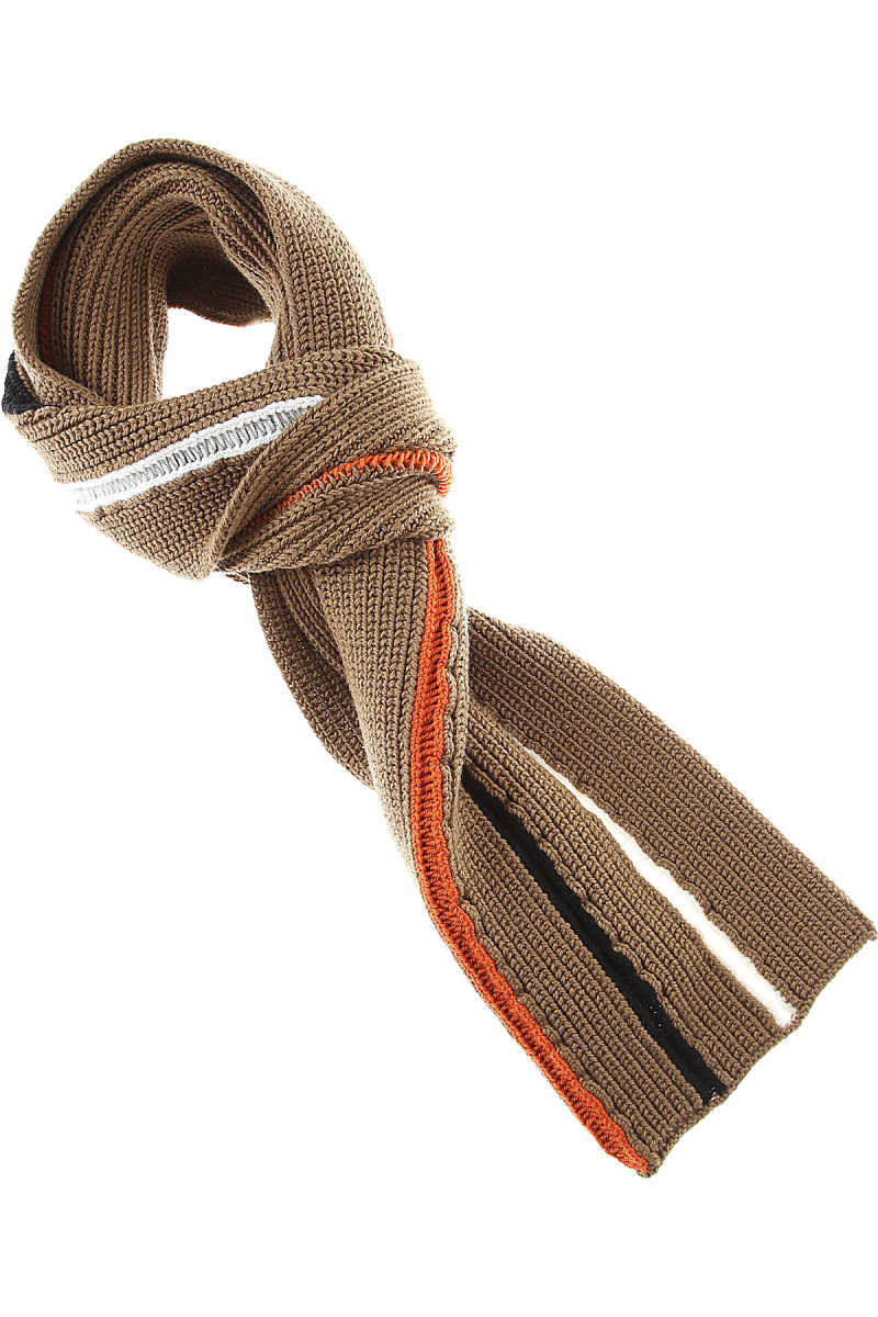 Maison Martin Margiela Scarf for Men On Sale in Outlet nut - GOOFASH