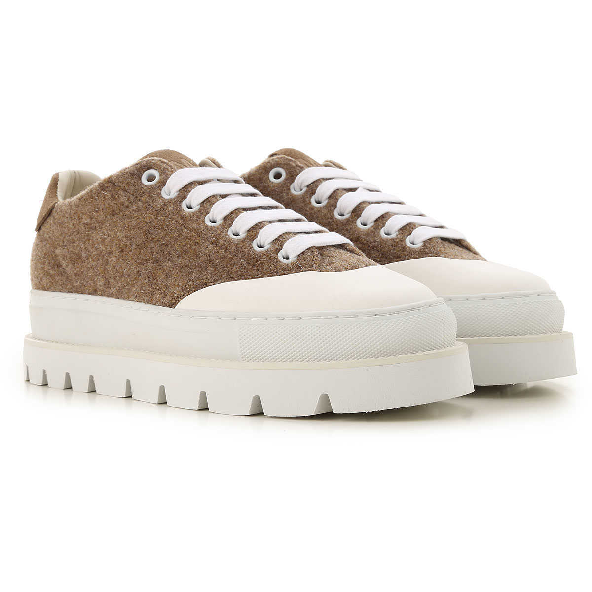 Maison Martin Margiela Sneakers for Women On Sale in Outlet Dark Sand Brown UK - GOOFASH
