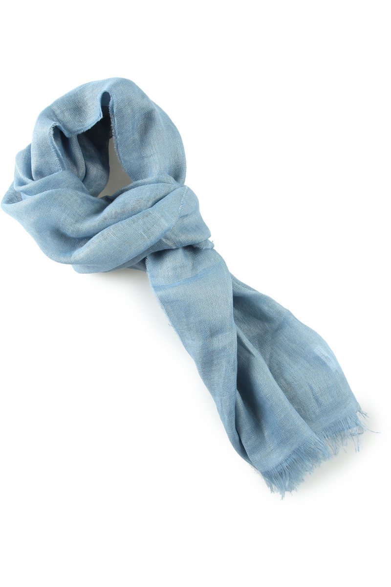 Max Mara Scarf for Women On Sale Dusty Blue UK - GOOFASH