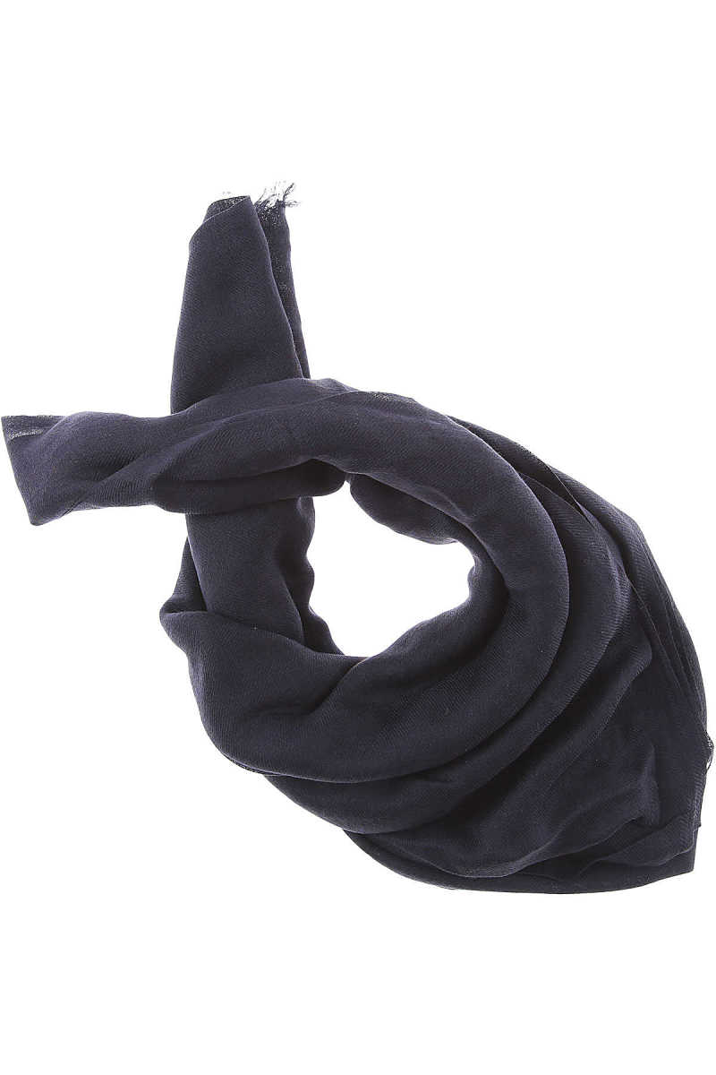 Max Mara Scarf for Women On Sale in Outlet Dark Navy Blue - GOOFASH