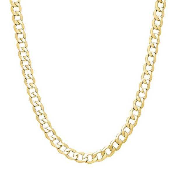 Men's Curb Chain in 14K Yellow Gold